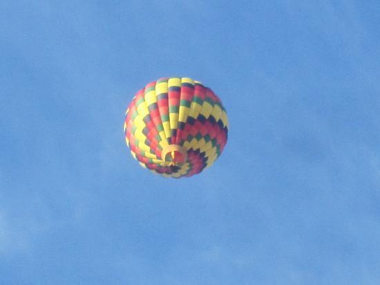 Motel Belle Riviere: Hot Air Balloon