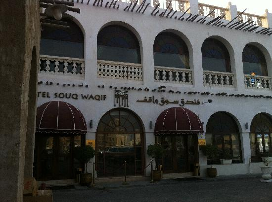 Hotel Souq Waqif: Front of hotel