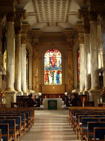 Interior of Birmingham Cathedral