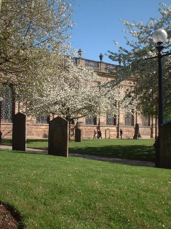 Birmingham Cathedral in Spring