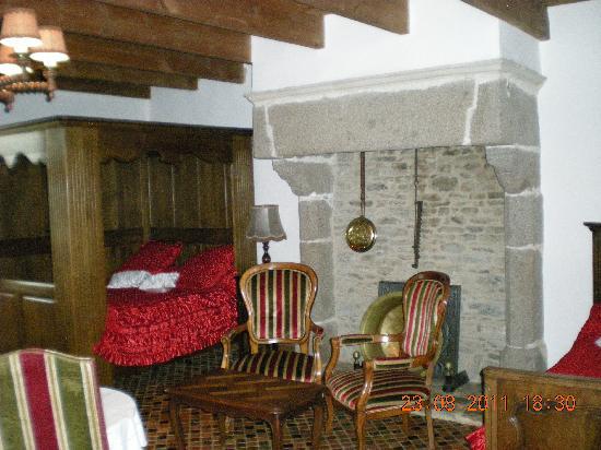 Manoir de la Foulerie : chambre donjon