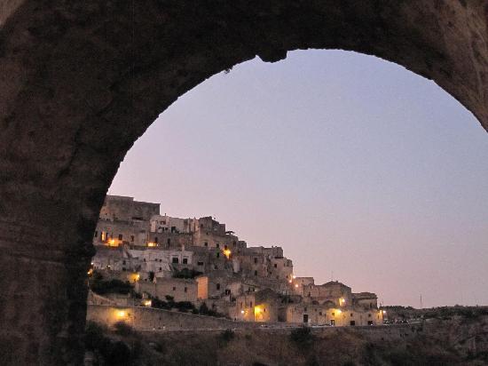 Matera, Italy: panorama