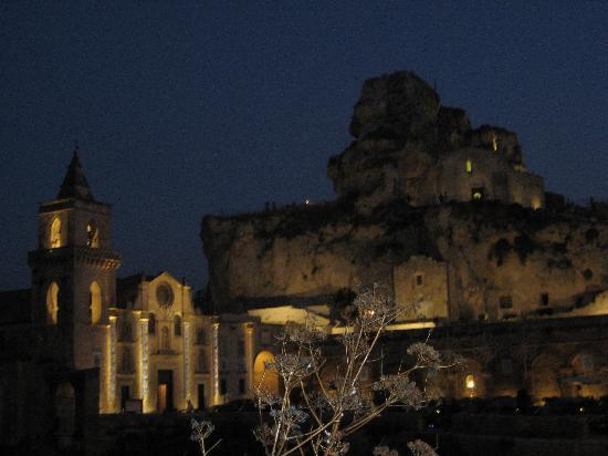 Matera, Italien: la chiesa