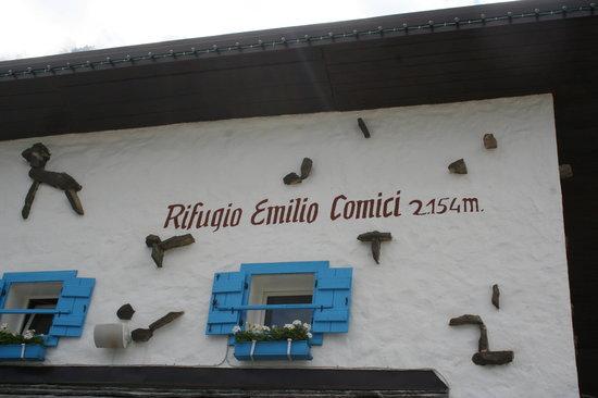 Rifugio Emilio Comici: Un rifugio curato nei dettagli.