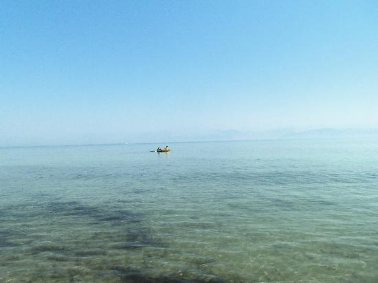 Roda Beach Resort & Spa: Clear Sea