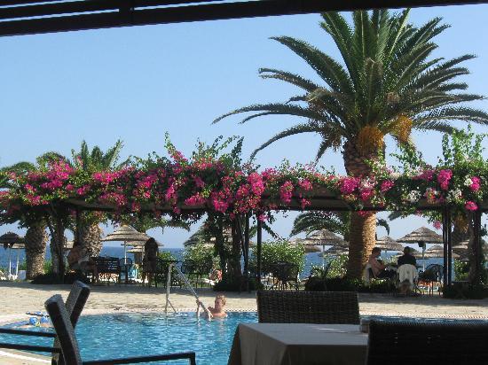 Alion Beach Hotel: pool restaurant