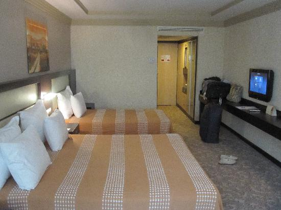 Blue Regency Hotel: the massive room