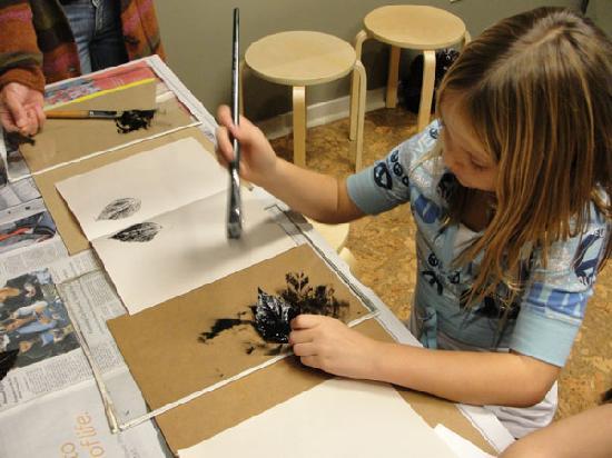 Wildling Art Museum: We regularly offer kids activities.