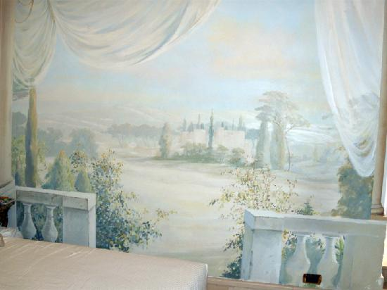 Hotel Sant Anna Roma : Gorgeous fresco in Room 46