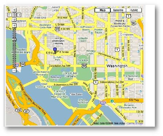 State Plaza Hotel Foggy Bottom Map