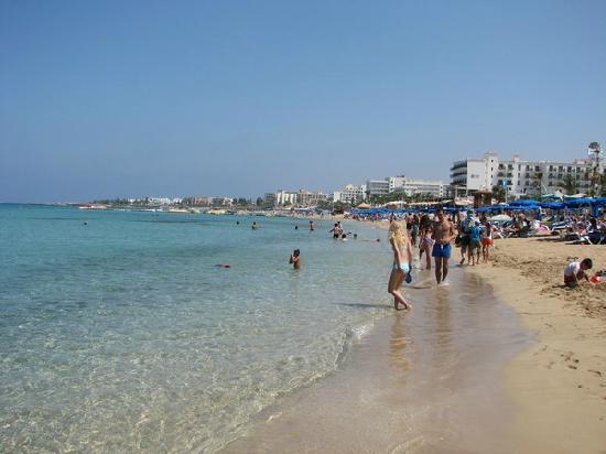 SunConnect Protaras Beach - Rising Star Hotel: Vrissi beach