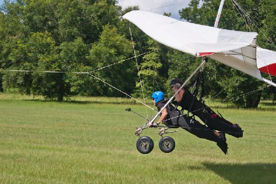 Quest Air Hang Gliding: Up, up and away!