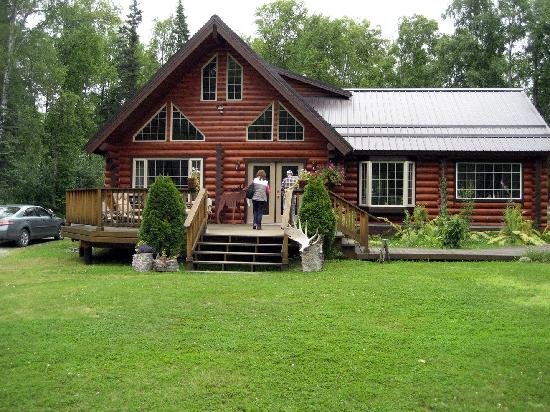 Meandering Moose Lodging: Main house at Meandering Moose