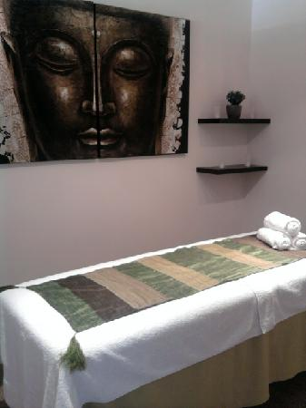 Harmonies du Monde : salle de massages