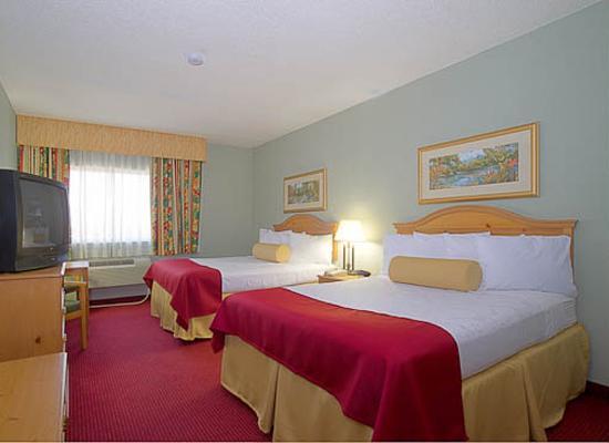 BEST WESTERN PLUS Sebastian Hotel & Suites: DBL Queen Room