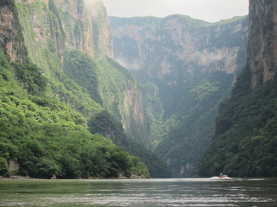 Chiapas, Mexiko: canyon