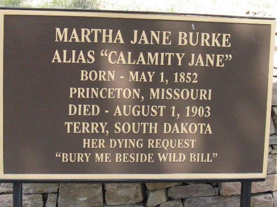 Mount Moriah Cemetery: Calamity Jane  Info