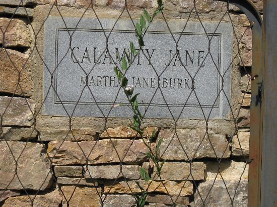 Mount Moriah Cemetery: Calamity Jane Grave Marker