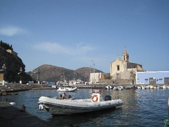 Lipari, อิตาลี: marina corta