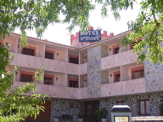 Hotel Dona Blanca: FACHADA PRINCIPAL