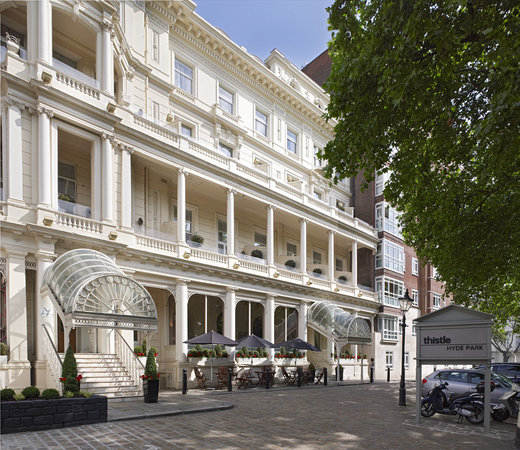 Exterior of Thistle Hyde Park Hotel