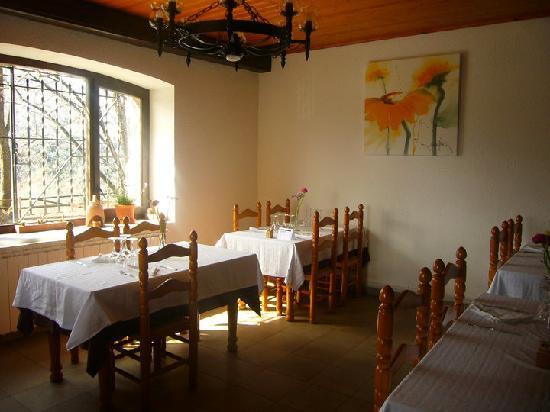 Hostal Rural Falgars : Comedor