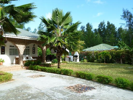 Anse Volbert, Seyşeller: parte del giardino