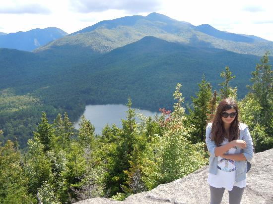 Gauthier's Saranac Lake Inn and Hotel: View from the top of nearby Mt Joe
