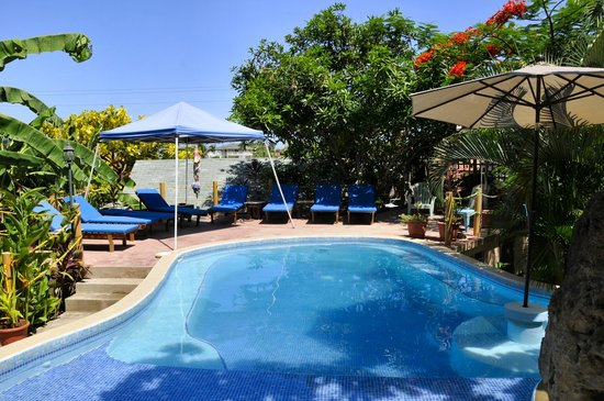 West Bay Lodge and Spa : Pool area
