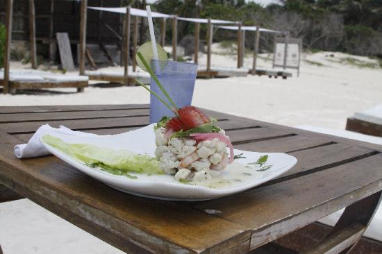 Ana y Jose Beach Club: Ceviche