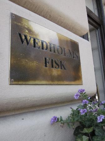 Wedholms Fisk: Front Door