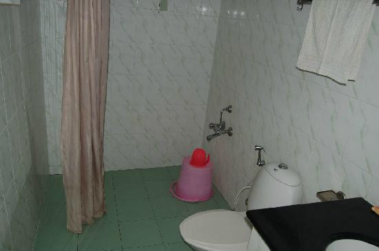 Toilet in Royal Challet Mysore Non-A/c Room