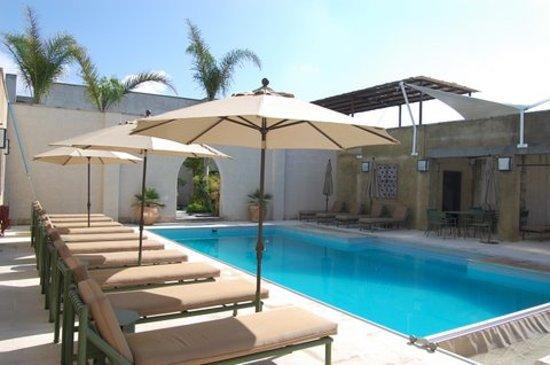 the pool at Shanti San Miguel