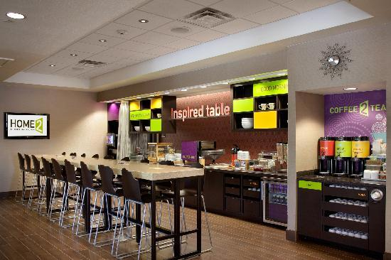 Home2 Suites By Hilton Salt Lake City/Layton, UT: Complimentery Breakfast Area