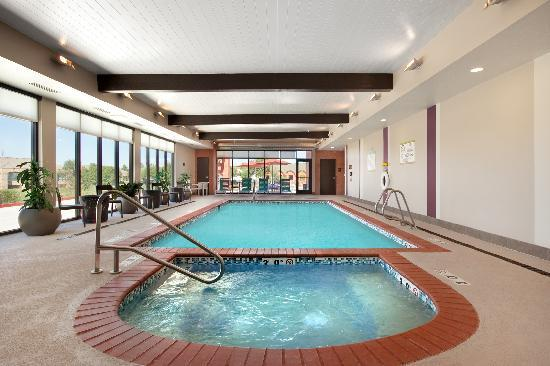 Complimentery breakfast area picture of home2 suites by for Indoor pools in utah