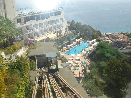 Hotel Antares: particolare dell'Antares