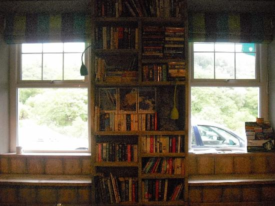 Plas Curig Hostel : Grab a book and chill with a cuppa.