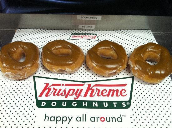 Krispy Kreme Doughnuts: Maple Iced Glazed (Times Vary)