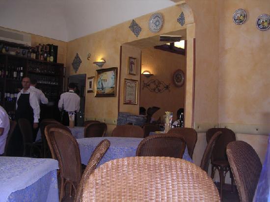 La Pentolaccia: interno del ristorante