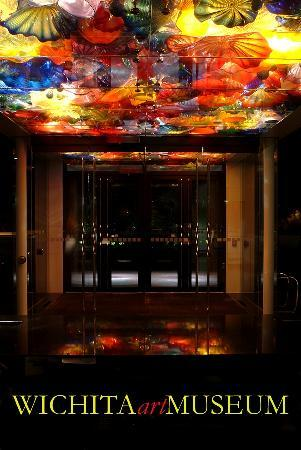 Dale Chihuly Installation at the Wichita Art Museum