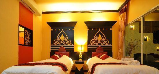 Loei, Thailand: room