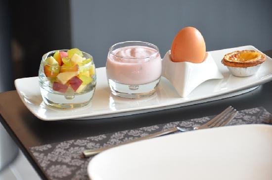Abalona B&B: Breakfast