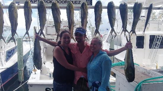 Sea Horse Private Charters: After a day fishing
