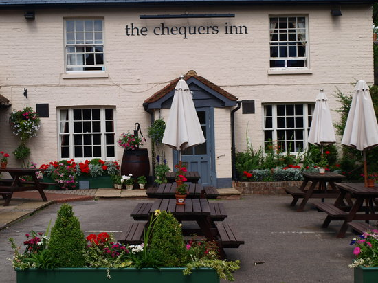 Gardens at The Chequers Inn