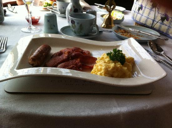Ard-na-Coille Guest House: freshly made to order breakfast