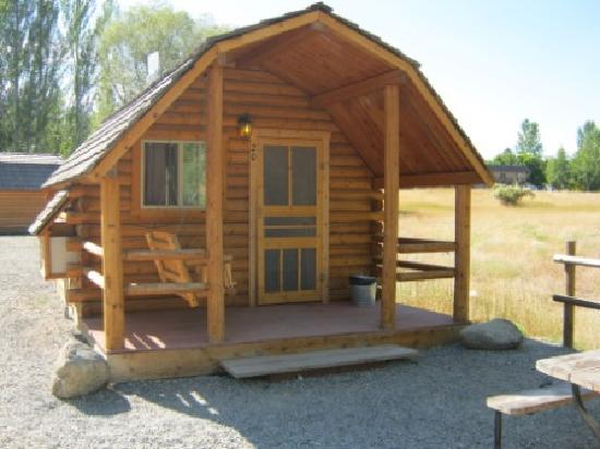 Winthrop / N. Cascades National Park KOA: Cozy Cabin