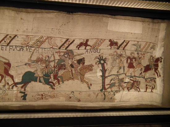 Museo del Tapiz de Bayeux: Ultima scena