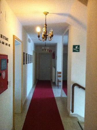 Hotel Elefant: corridoio