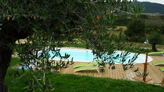 Relais de l'Alsou : vue piscine