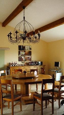 Relais de l'Alsou : la salle à manger